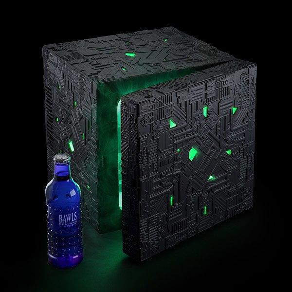 На ThinkGeek появился холодильник в виде куба боргов из «Звёздного пути» . Изображение № 1.
