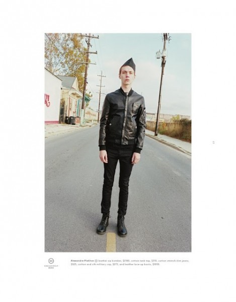 Мужские лукбуки: Barneys, Dior Homme, Opening Ceremony и Pierre Balmain. Изображение № 12.