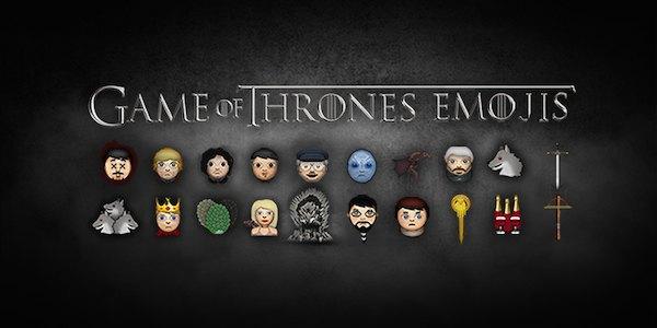 Персонажей «Игры престолов» переделали в Emoji. Изображение № 21.