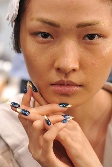 Изображение 9. Beauty looks на неделе моды в Нью-Йорке.. Изображение № 9.