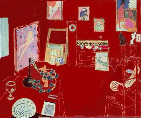 Красная мастерская, Анри Матисс, 1912. Изображение № 11.