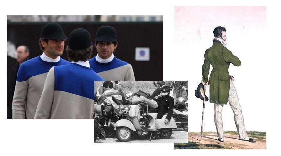 Денди, Моды, Старые мужские коллекции Balenciaga. Изображение № 10.