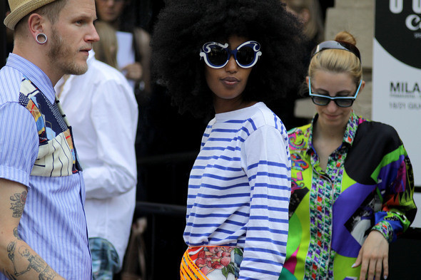 Изображение 2. Девушки на Milan Fashion Week: день 3 и 4.. Изображение № 2.