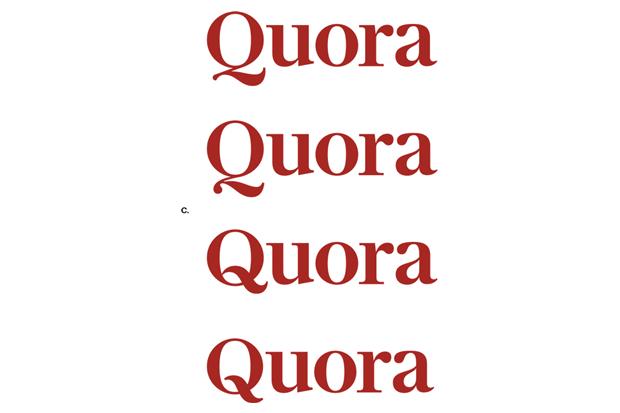 Шрифтовик рассказал о процессе редизайна логотипа Quora. Изображение № 4.