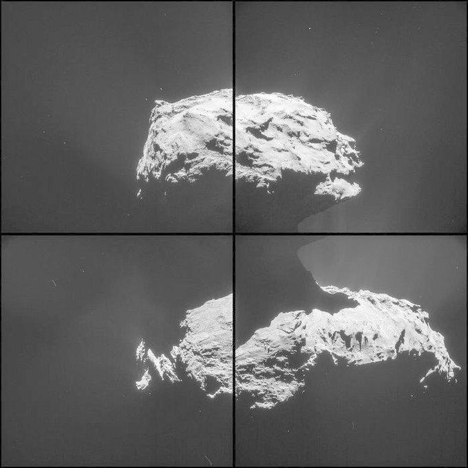 ЕКА опубликовало новые фото кометы 67Р. Изображение № 3.