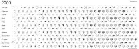 Хлопательный календарь. Изображение № 2.