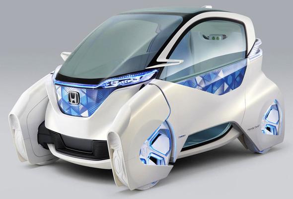 Концепт электрокара для города - Honda Micro Commuter. Изображение № 1.