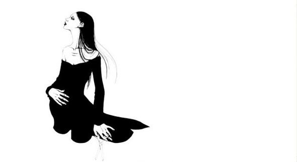 Katsuta Mako – черно-белая грация. Изображение № 33.
