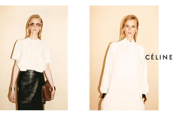 Рекламные кампании: Celine, Calvin Klein, Dolce & Gabbana и другие. Изображение № 7.