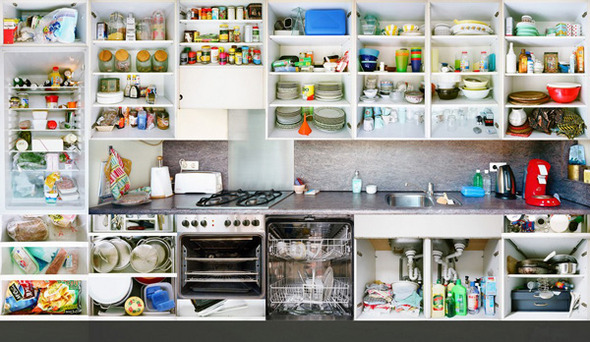 Кухонный вопрос: Гарнитуры и кухни в съемках Эрика Кляйна. Изображение № 2.
