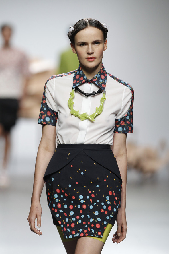 Madrid Fashion Week SS 2012: Ana Locking. Изображение № 12.