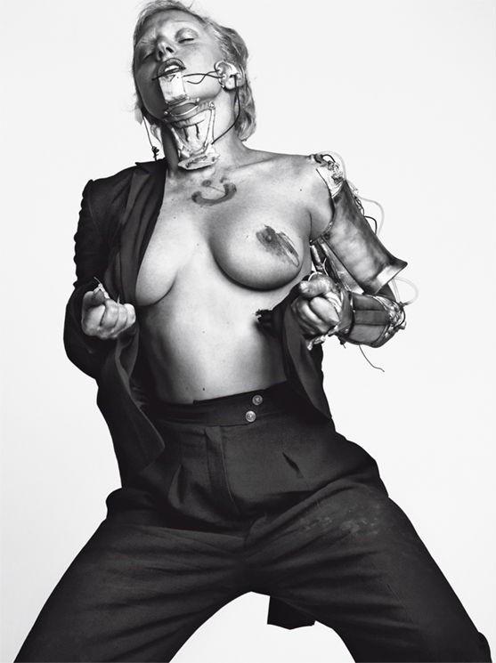 Съёмка: Леди Гага для Vogue. Изображение № 5.