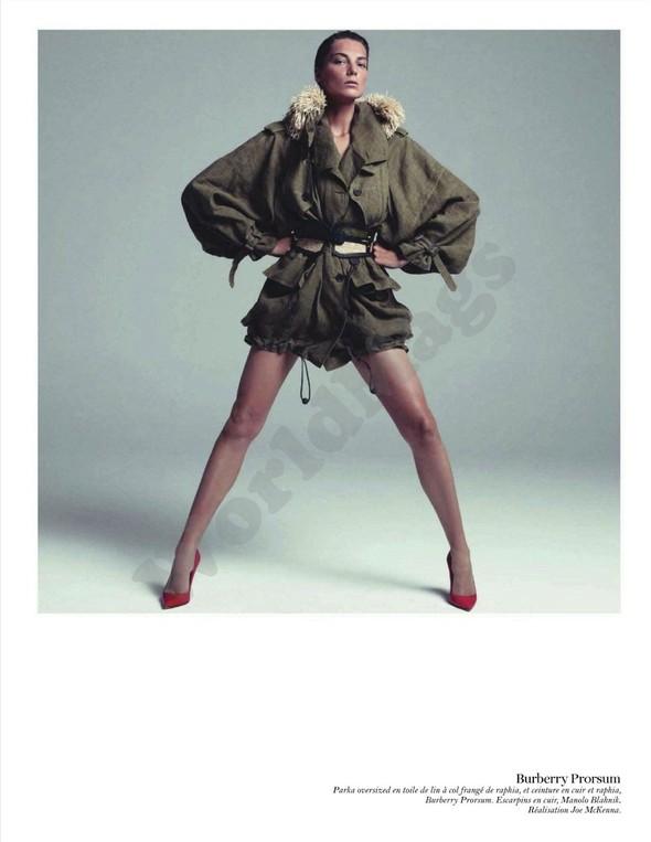 Съёмка: Дарья Вербова для французского Vogue. Изображение № 48.