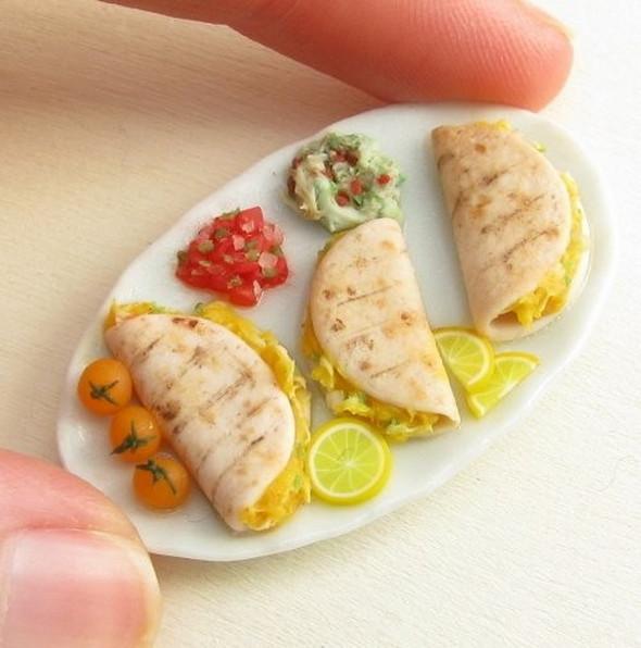 Еда в миниатюре. Изображение № 5.