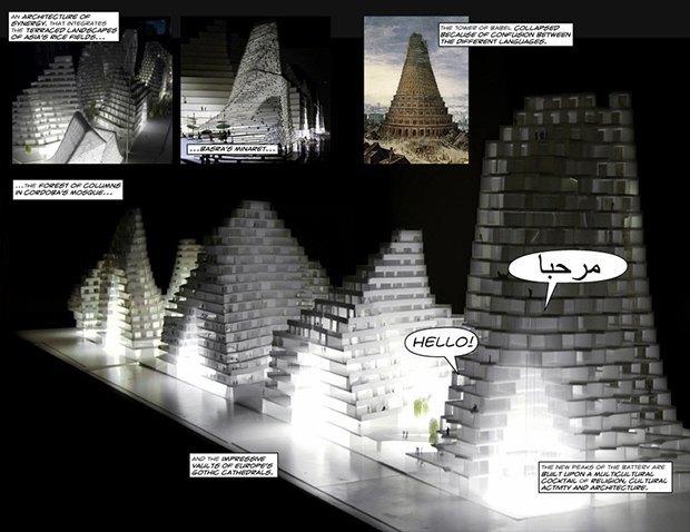 Дом для Супермена: комиксы Ле Корбюзье, Рема Колхаса и других знаменитых архитекторов. Изображение № 20.