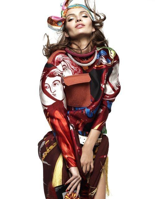 Съёмка: Карола Ремер для Vogue. Изображение № 3.