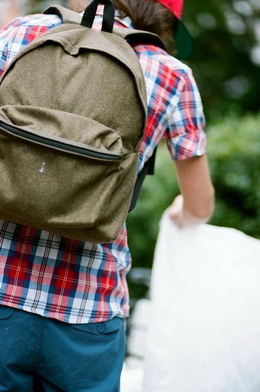 На Саше: рубашка Еxtra, шорты  Wesc, рюкзак Back to bag. Изображение № 16.