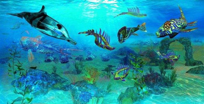Российские музыканты записали саундтрек для сипанк-игры про дельфина. Изображение № 7.