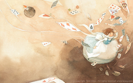 Kimmin ji– акварель видеальном исполнении. Изображение № 18.