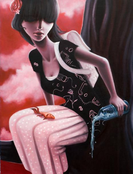 Sarah Joncas – девушки, рыбы измеи. Изображение № 17.