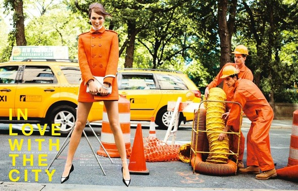Съёмка: Карли Клосс для японского Vogue. Изображение № 1.
