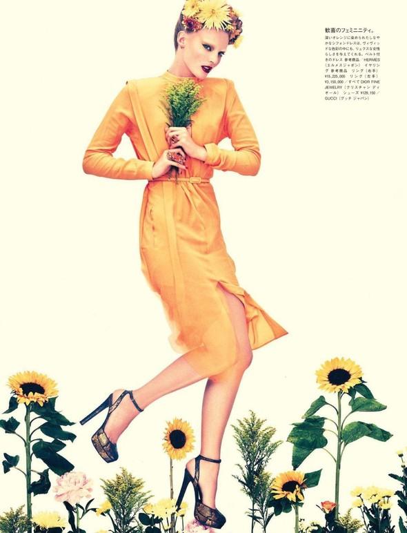 Съёмка: Имре Стикема для Vogue. Изображение № 7.