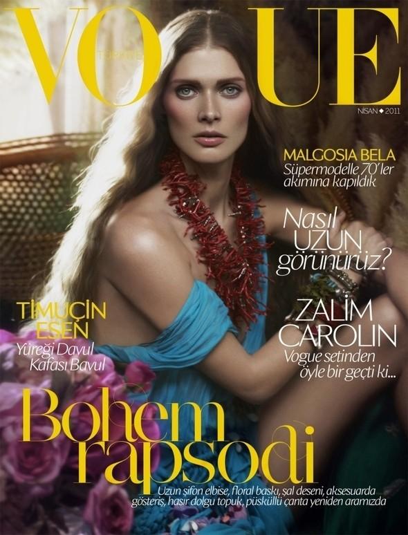 Изображение 4. Обложки Vogue: Япония, Австралия и другие.. Изображение № 3.
