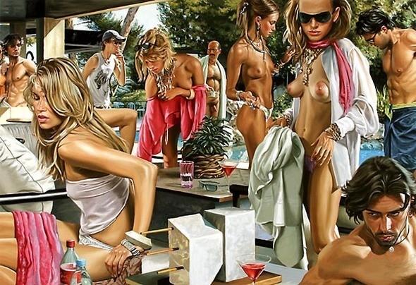 Изображение 46. Терри Роджерс выбрал для своего творчества тему молодежных фетишей: желание во всех ее переизбытках.. Изображение № 46.