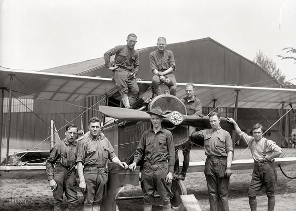 Фотографии авиации, начало прошлого века. Изображение № 5.
