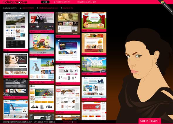 Персонажи в дизайне сайтов. Изображение № 8.