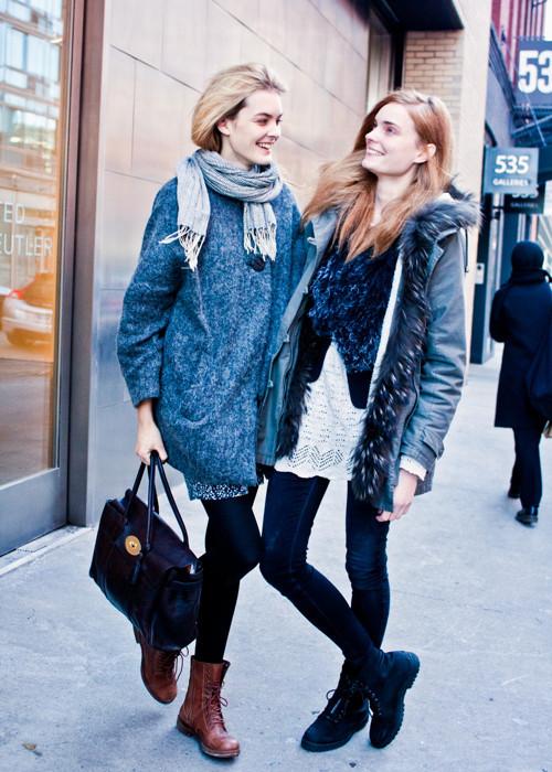City Looks: Стиль моделей в блоге Bonae L'Amour. Изображение № 19.