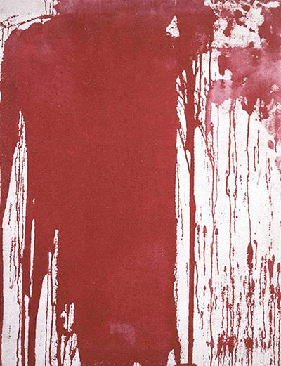 Картина Херманна Нитша, созданная с помощью заливки (1963). Изображение № 7.