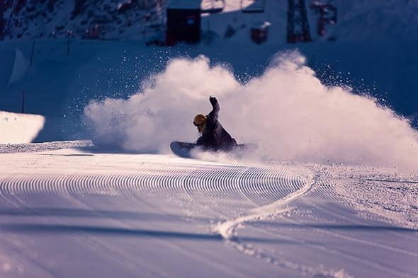 Powder Turn, Лаакс, Швейцария . Изображение № 6.