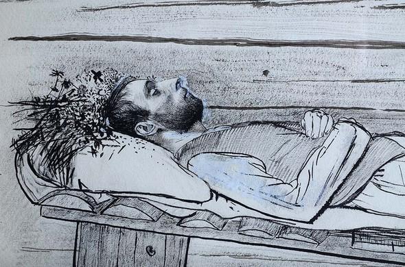 Графика Петра Митурича. Выставка в Третьяковской галерее. Изображение № 4.