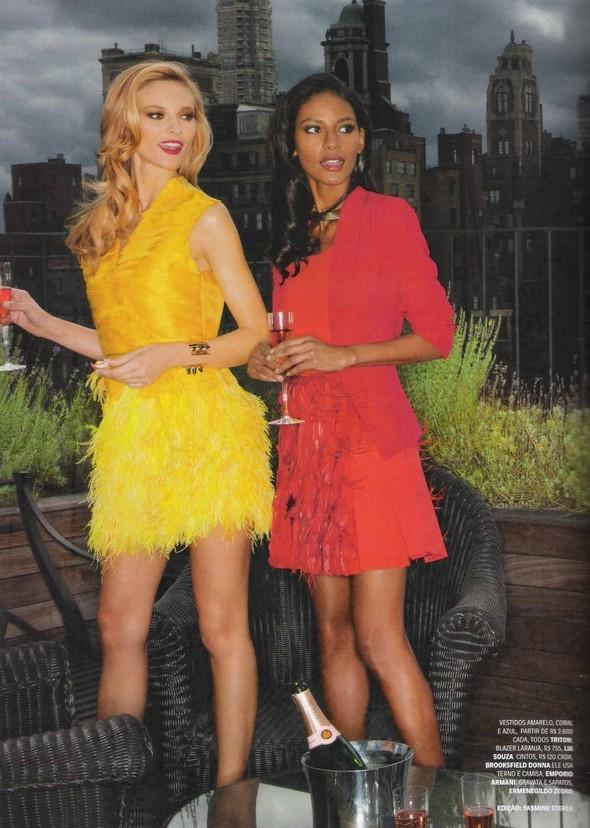 Съёмка: Алессандра Амброзио, Эмануэла де Паула и другие для Vogue. Изображение № 2.
