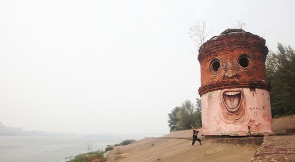 Живой стрит-арт Никиты Nomerz. Изображение № 2.