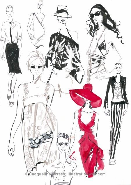 Иллюстратор Жаклин Биссет. Изображение № 13.