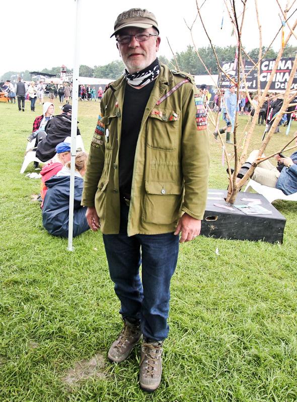 Индейские перья, фуражки и перстни: Люди на фестивале Roskilde. Изображение №14.