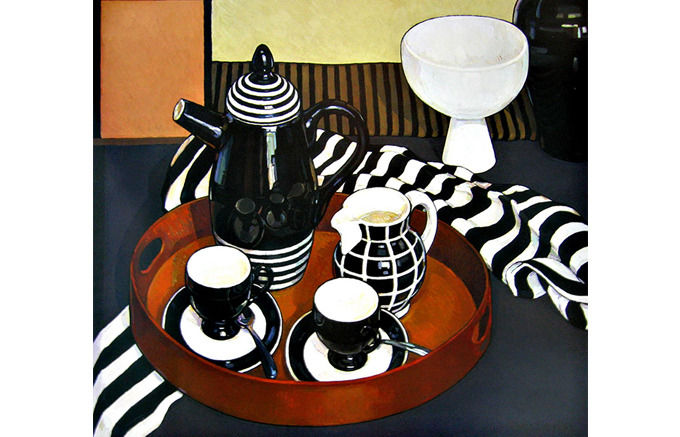 Criss Canning, Arthur Merric Boyd Coffee Set, 2003. Изображение № 1.