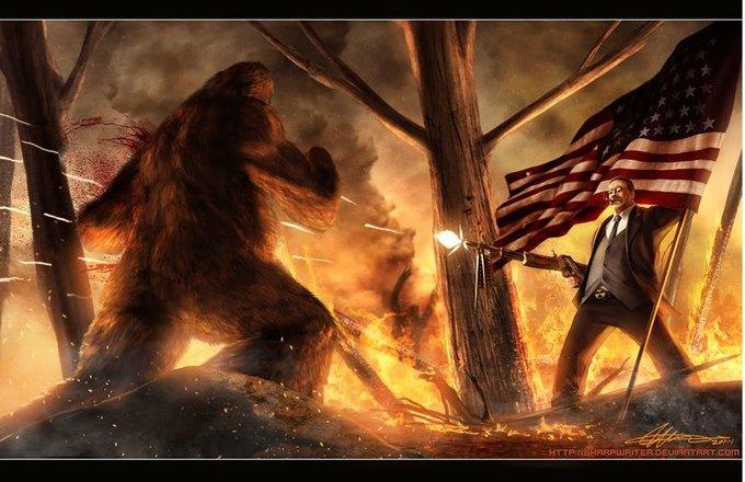 Американские президенты изображены героями игр. Изображение № 1.