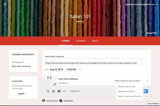 В Google выпустили бесплатный инструмент для преподавателей. Изображение № 1.