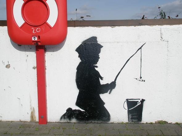 Изображение 13. Banksy (уличная мышь – герой).. Изображение № 13.