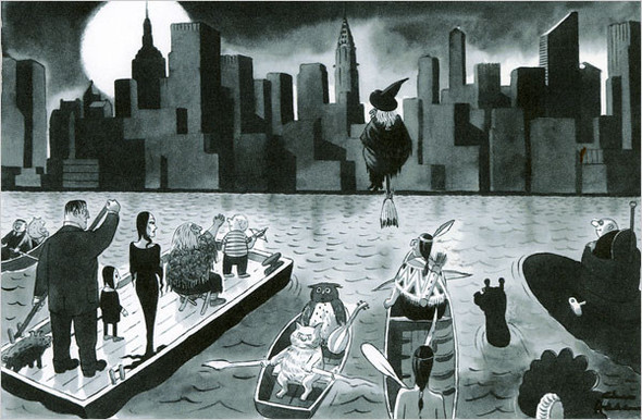 10 иллюстраторов журнала New Yorker. Изображение №7.