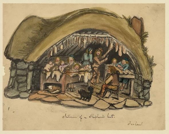 Исландия в середине XIX века: путевые рисунки американского дипломата. Изображение № 2.