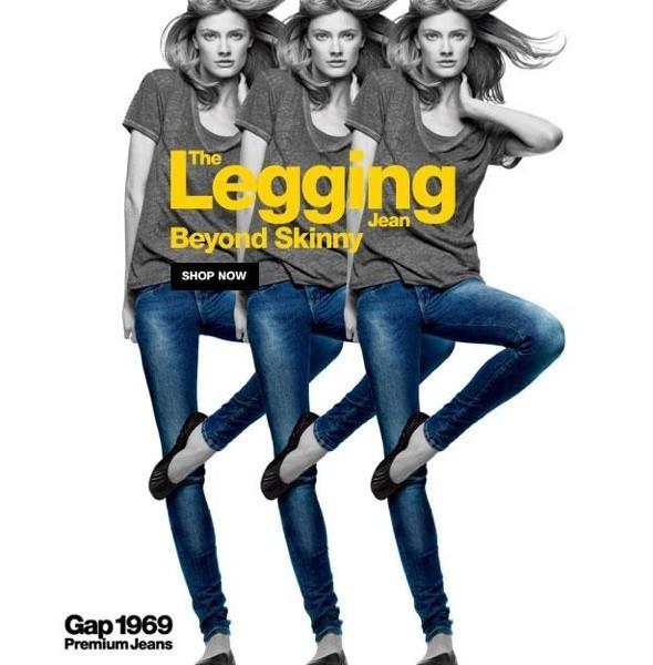 Новые рекламные кампании: Benetton, Gap и Topshop. Изображение № 9.