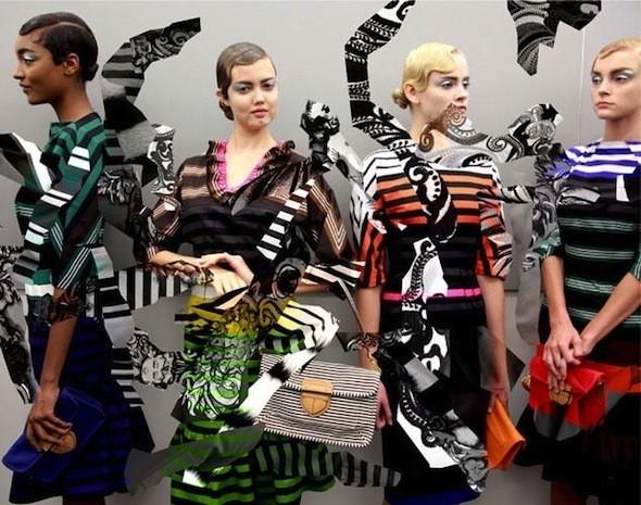Изображение 6. Prada Fantasy Lookbook SS 2011.. Изображение № 7.