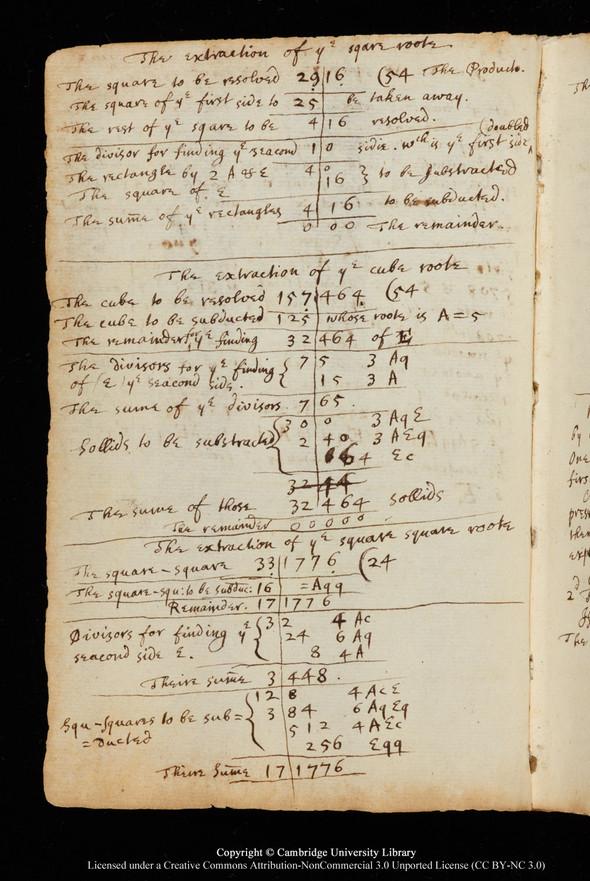 """Черновики Ньютона и первое издание """"Начал"""" выложены в сеть. Изображение № 5."""