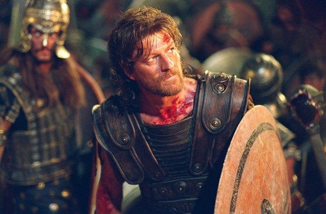 Шон Бин в роли Одиссея в «Трое». Изображение № 2.