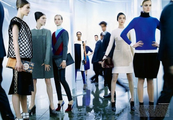 Съёмка: Стивен Майзел для Vogue. Изображение № 3.