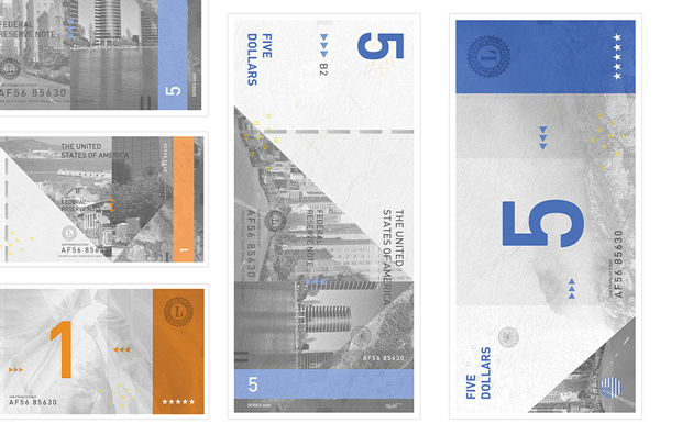 Студент представил редизайн банкнот американского доллара. Изображение № 5.